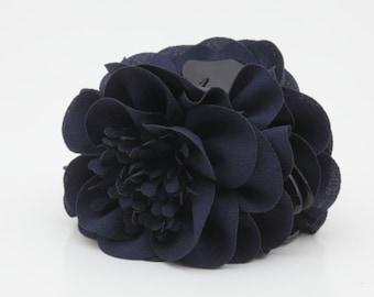 Long Pistil Flower Hair Claw Clip Women Hair Clamp