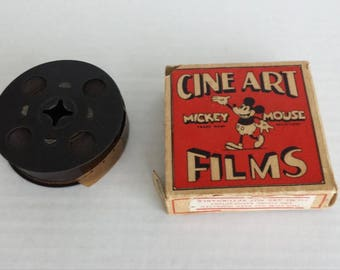 "1930""s Walt Disney Mickey Mouse  8mm film"