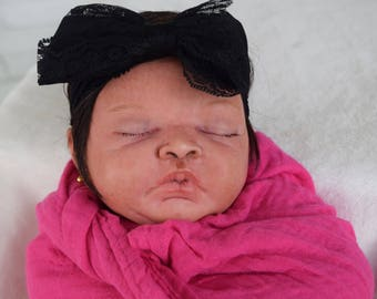 Reborn Bi-racial Baby Girl (Ready to Ship)