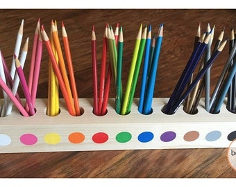 Montessori Inspired Pencil Holder