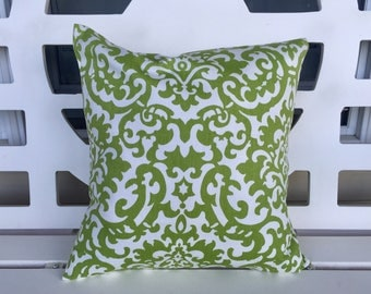 On Sale!  Green Pillow Cover 16 X 16