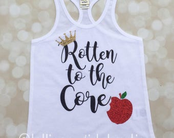 Rotton to the core; tank top; shorts set