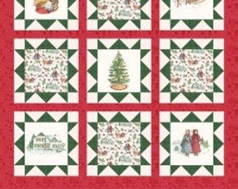 "1 Panel Anne of Greene Gables Christmas for Penny Rose Fabrics- 36"" x 43"""