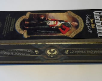 Glenfiddich Clan Sinclair Old Whisky Tin Barringer Wallis & Manners Collectable