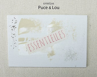 the 'essential' artistic postcard