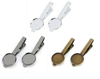 10pcs/lot 16mm/18mm/20mm Tie Clip / Tie Bar / Tie Tack/ Mens Accessories Office Wear