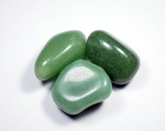 50g Natural Tumbled Green Aventurine Lot (GrnAven01)