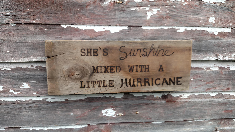 Cosmetics black leather gloves lyrics - She S Sunshine Mixed With A Little Hurricane Brad Paisley Lyrics Reclaimed Wood Rustic Sign Hand Burned 16 X 5