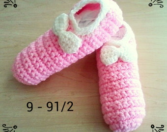 30% OFF ENTIRE PURCHASE Coupon Code (CBE30) Crochet Slippers