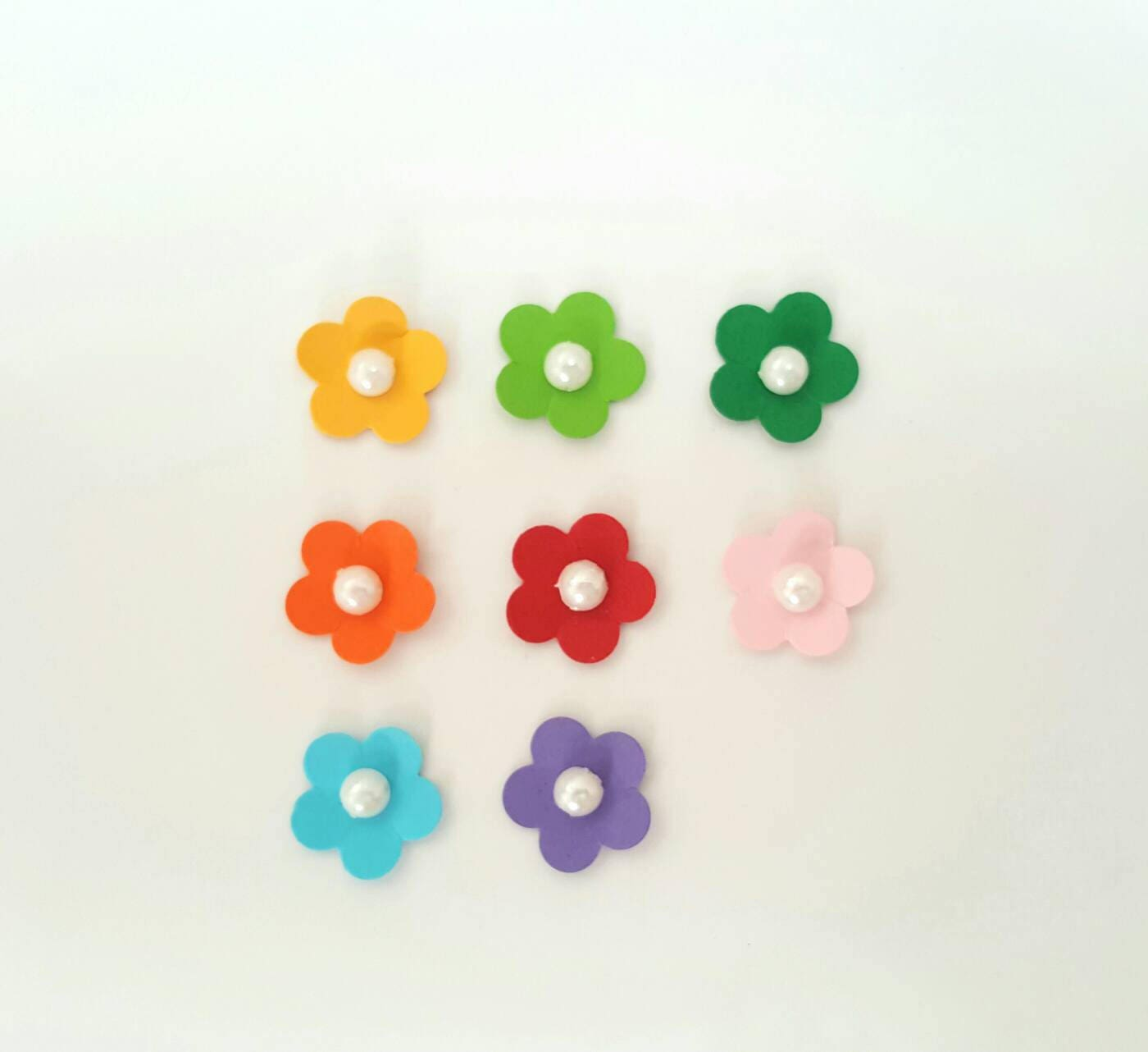 Small paper flowers craft -  1 40