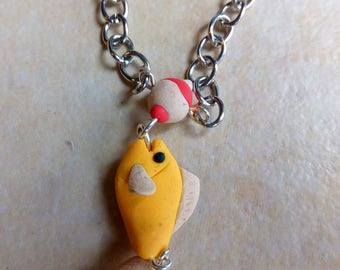 Fishing necklace