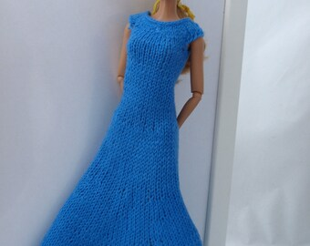 Free shipping! Barbie knitted dress.