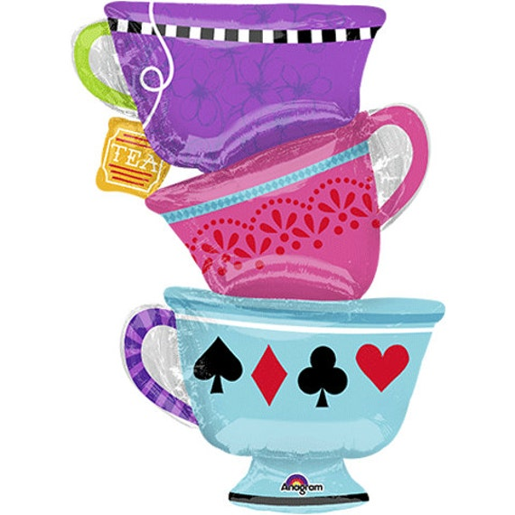mad hatter tea party clip art - photo #21