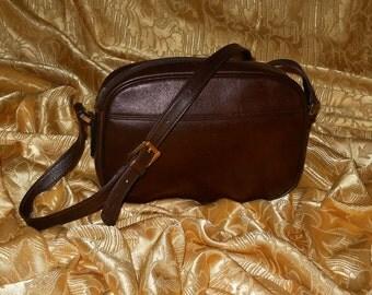 Genuine vintage Yves Saint Laurent bag - genuine leather