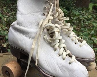Official vintage roller derby roller skates with case