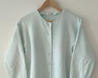 Rare Vintage I.S. Issey Miyake Women Long Sleeve Shirt Size S