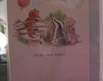It's Your Birthday  Let The Party Begin  Birthday Card