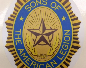 Legion stickers etsy for American legion letterhead template