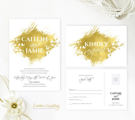Cheap Cardstock For Wedding Invitations : ... cardstock Watercolor wedding invites and RSVP postcards Cheap