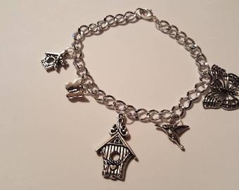 Bird House bracelet