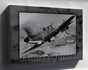Canvas 24x36; Boulton Paul Defiant P.82