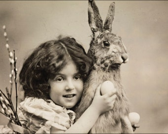 16x24 Poster; Easter Rabbit 1907