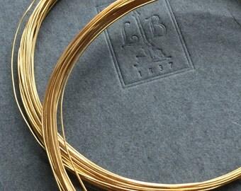Gold Vermeil Wire 26 Gauge Wire Dead Soft 16 Feet
