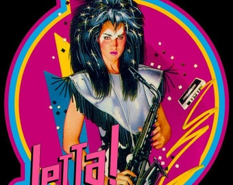 Jem And The Holograms Jetta Vintage Image T-shirt