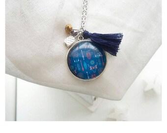 Necklace * My Blue Boho *.
