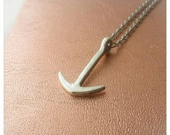 Minimalist necklace Sailor (anchor)