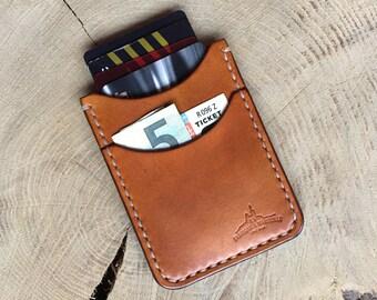 Etui porte cartes en cuir compact