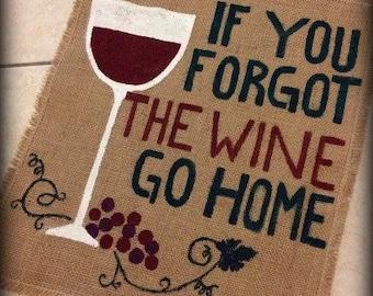 Wine Garden Flag