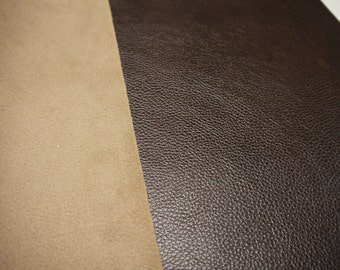 """Leather panels smooth Pebble 18""""x 24"""" for ( 7 ) pieces."""