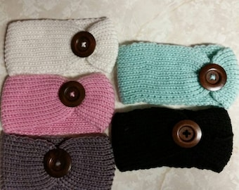 1 or all 5! Crochet Baby/Kids/Toddler Knit Turban Hairband Headware