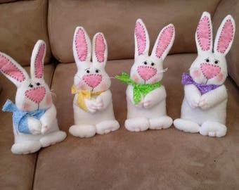 BUNNY - spring bunny - bunny shelf sitter - Easter decor