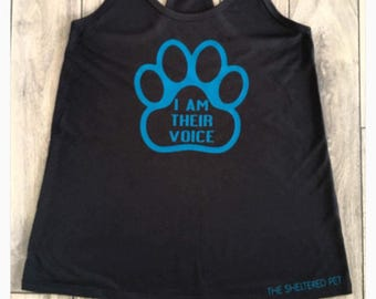 I Am Their Voice - Dog, Cat, Adopt, Rescue, Support