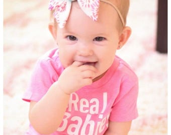 The Real Toddlers Of ..., Customizable Housewives Tees, Personalized to Your Town! Kids Babies Shirt, Pink and White Top, Funny, Trendy