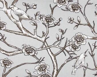 Upholstery Fabric, Drapery Fabric, Birds Fabric, Curtain Fabric, Medium Weight Fabric, Fabric By The Yard, Modern Fabric, ExclusiveFabric