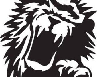 LION SVG FILE
