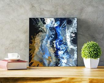 Splash Hand Painted Original Painting, Acrylic Painting, Abstract Art,Home decor, Interior Decor, Wall Art, Modern Wall Decor