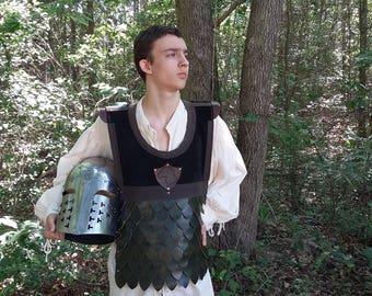 Dragon scale Paige armour coat