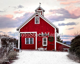 Red Barn Background red barn backdrop | etsy