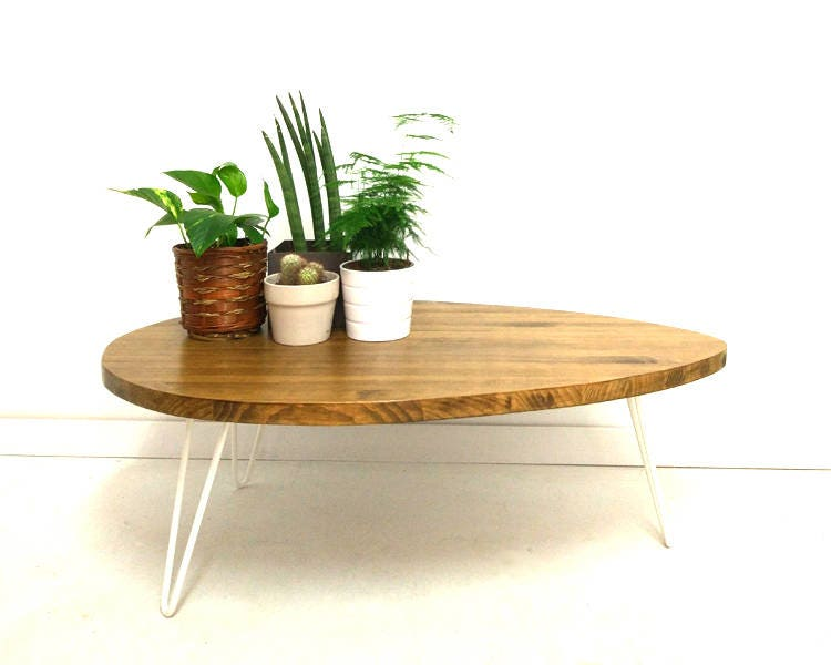 Egg Shaped Table coffee tables - vintage house coruna
