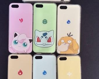 Pokemon Soft IPhone Phone Cases