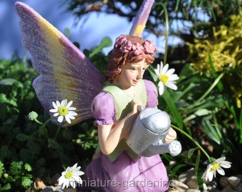 Fan the Fairy for Miniature Garden, Fairy Garden