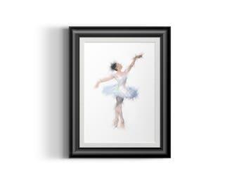 "Ballerina 10"" x 14"""