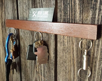 Magnetic Key Holder , Wall Mounted Key Holder, Key Rack, Key Holder, Smoked Ash, Wall Decor