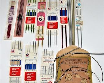 Vintage Knitting Needles New Old Stock HERO, Majesty Boye and More