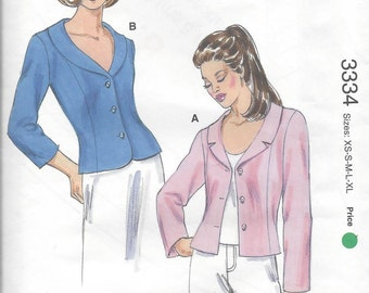 Kwik Sew Jacket pattern  Sizes xs-s-m-l-xl