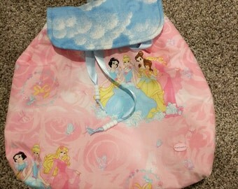 Princess kids backpack